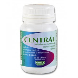 Centrál multivitamin multiminerál tabletta